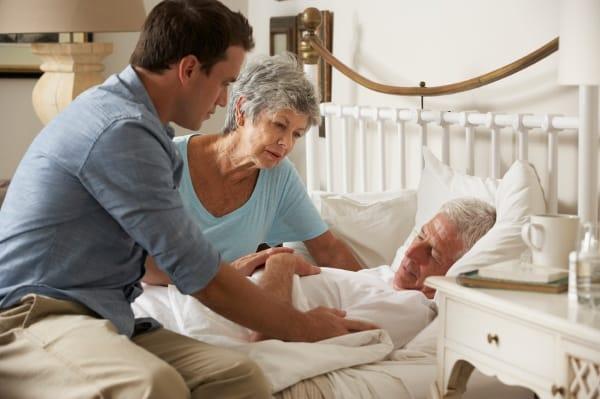 îngrijirea celui bolnav pe moarte