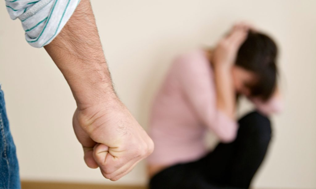 What shall you do when you are tortured by your violent husband?