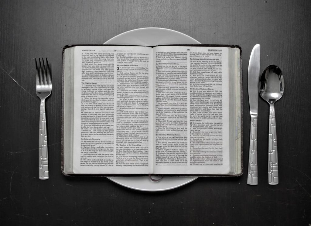 Where is it written in the Bible that during the fasting period it is not allowed to eat meat, milk, eggs, etc?