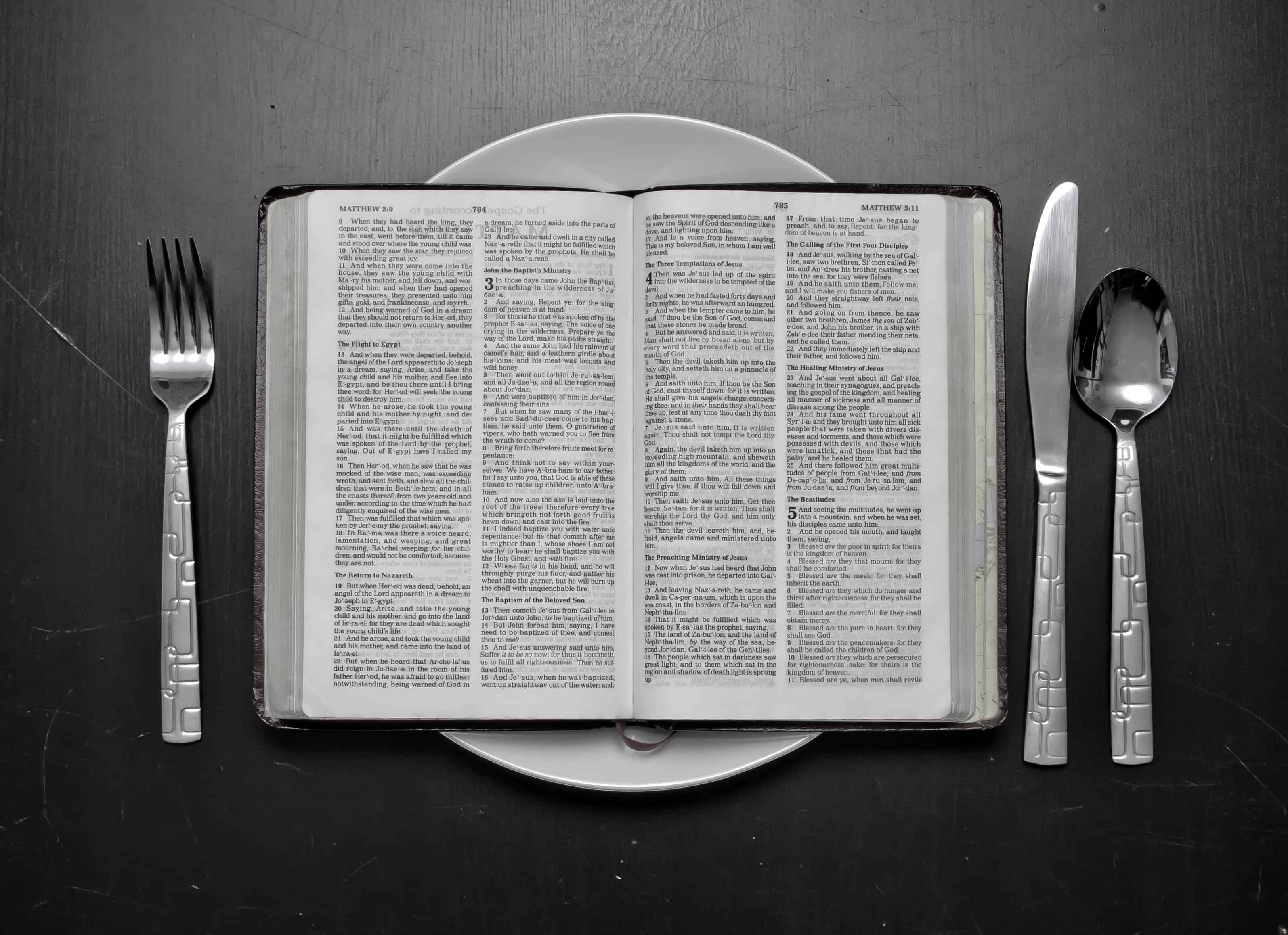 Relaţia dintre postul alimentar şi cel spiritual