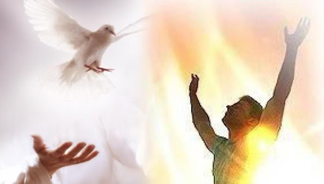 How is the the baptism with the Holy Spirit and filling with the Holy Spirit demostrated?