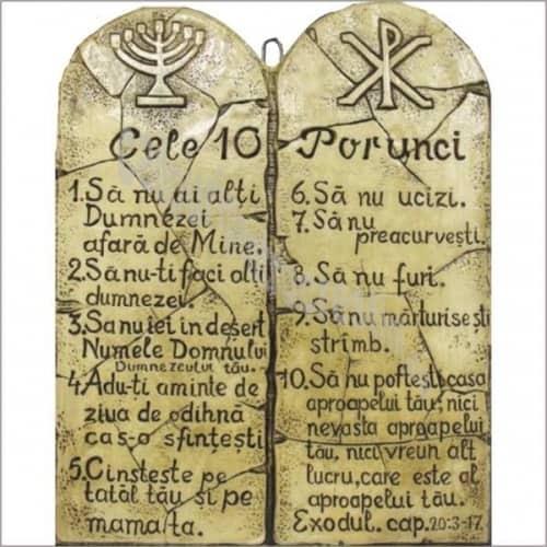 Cele Zece Porunci - le cunoști?