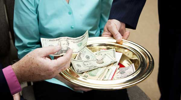 Should the church receive tithe of a dirty gain?