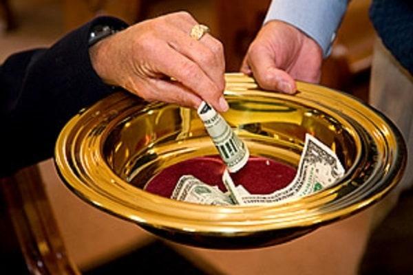 Может ли церковь принимать десятины из нечестно заработанных денег?
