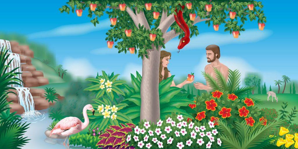 Diavolul înșeală pe Eva