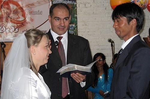 Nunta lui Tanea si Ajai in Nepal