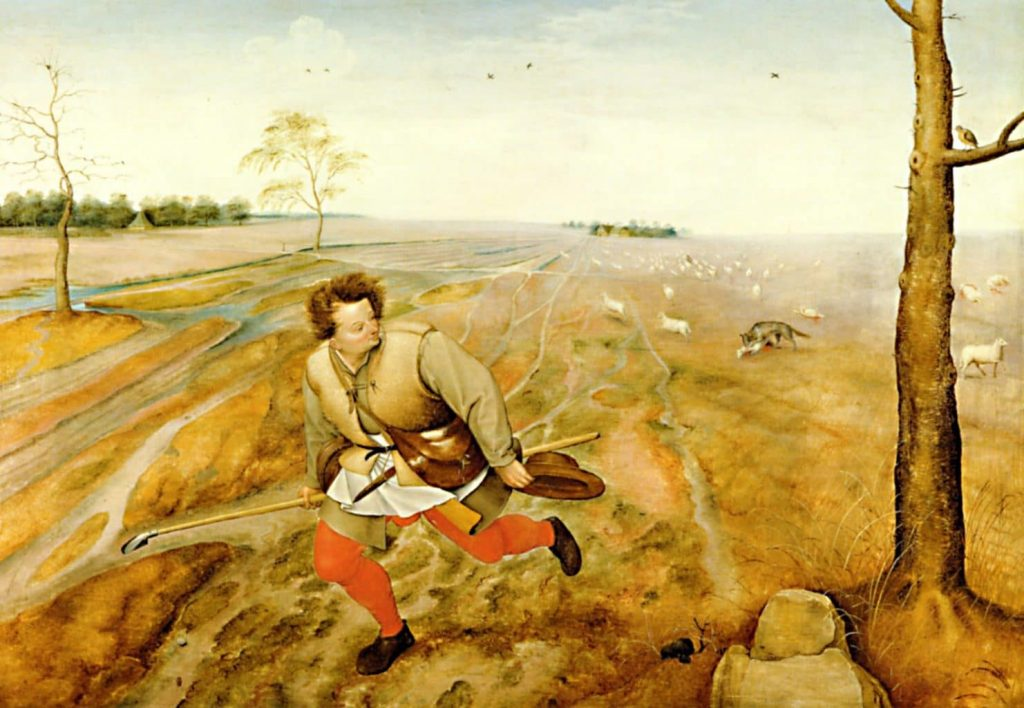 Hаказание для тех пастырей, которые пасут стадо для гнусной корысти