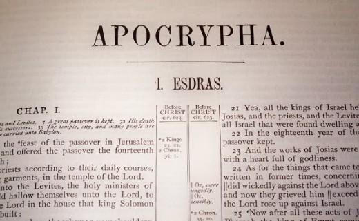 De ce cărţile canonice şi apocrife sunt diferite la ortodocşi, catolici şi protestanţi?