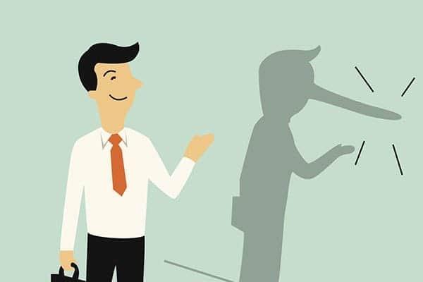 Разрешается ли солгать для сокрытия причиненных убытков?