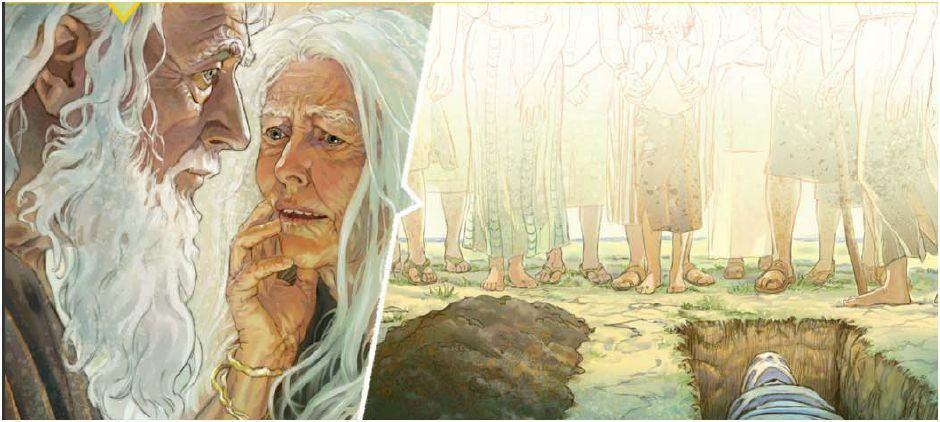 Qui est mort le premier: Adam ou Eve?