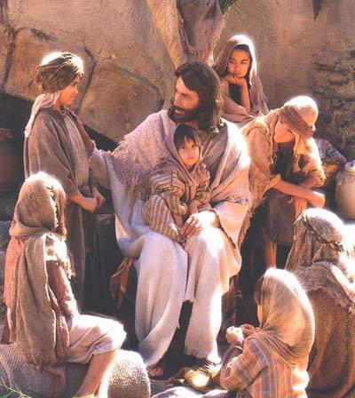 Jésus aime les enfants