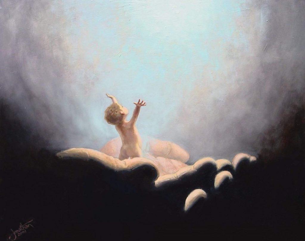 copil în mîna lui Dumnezeu
