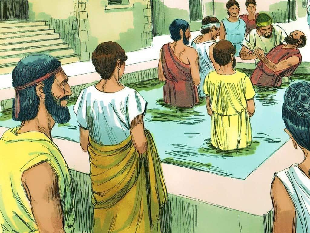 De ce apostolii au botezat în Numele lui Isus şi nu în Numele Tatălui, Fiului şi al Duhului Sfânt?