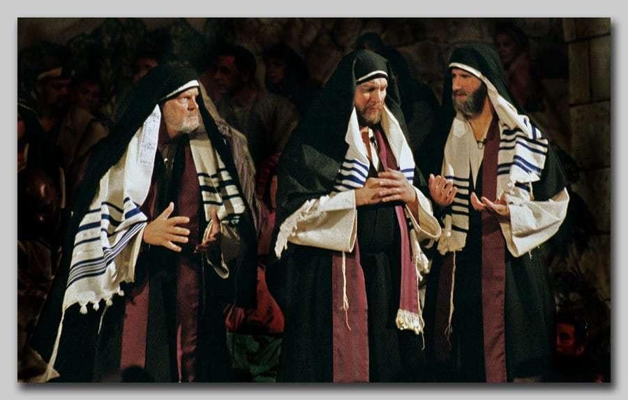 Rabi, Părinte şi Dascăl se numeau Fariseii şi Cărturarii