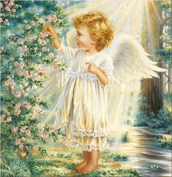 Est-ce vrai que chaque enfant à son ange?
