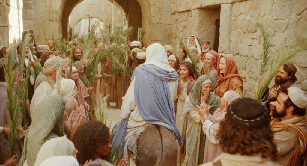 Sur combien d'animaux Jésus vint à Jérusalem?