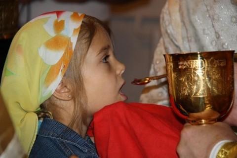 Poate fi vindecat copilul dacă este împărtășit la fiecare slujbă a Bisericii?