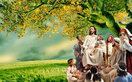 isus cu copii