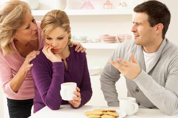 ¿Cómo comportarse con el marido que no piensa en sus palabras?