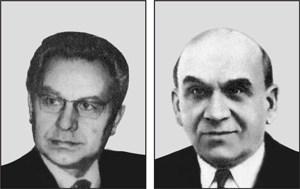 Ghenadii Kriuchkov și Alexandr Karev