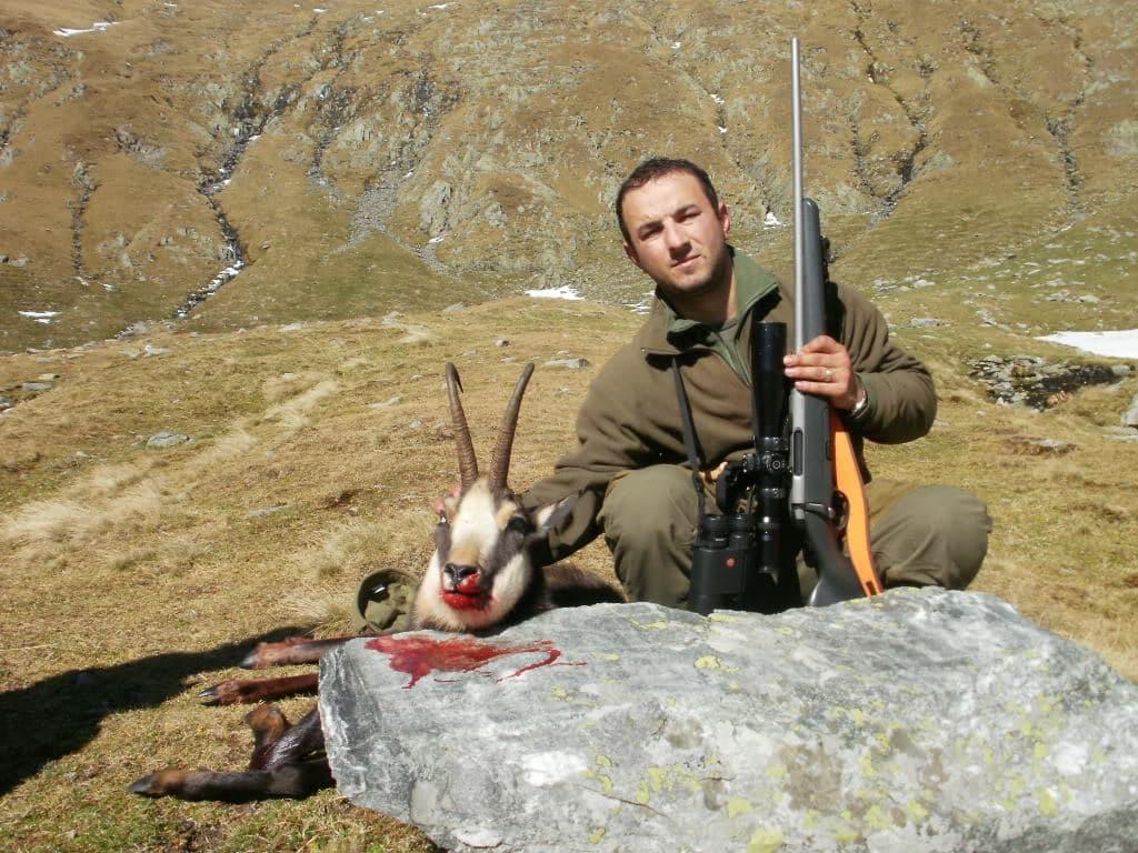 creștin la vânătoare