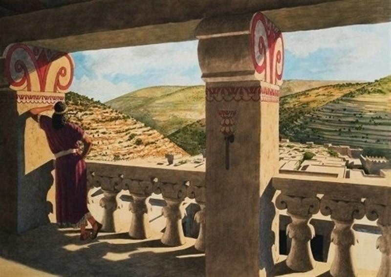 David privind pe Batșeba
