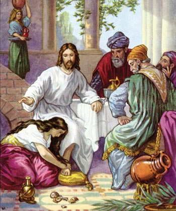 Femeia păcătoasă din evanghelia după Luca