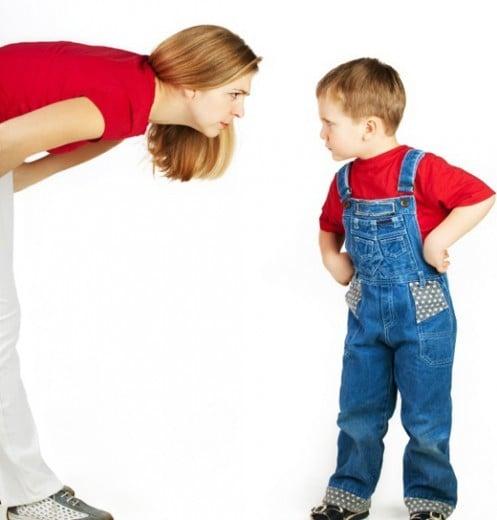Ce înseamnă practic, să nu întărîți copilul la mînie?