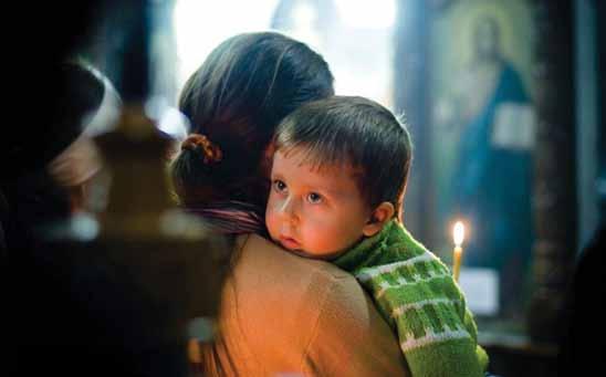 ребёнок мусульманина и христианки