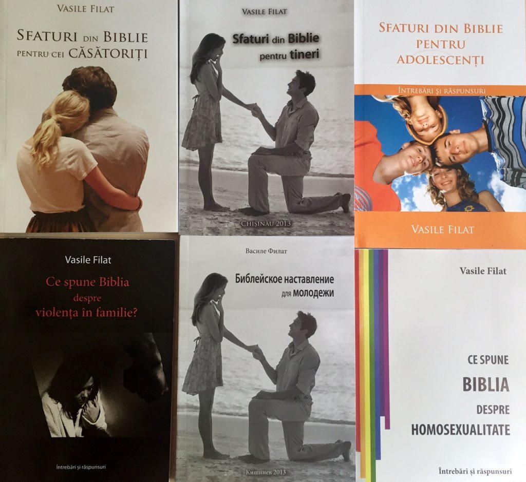 Cărți despre familie de Vasile Filat
