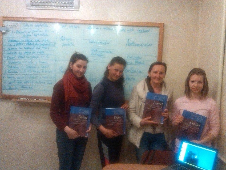 Studiul DANIEL - grupul Irinei Batin în Chișinău