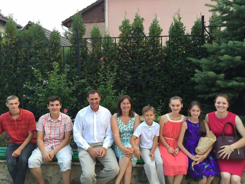 Biserica din Dănceni la absolvirea Institutului Inductiv