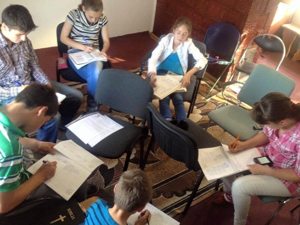 Studiu biblic la Dănceni
