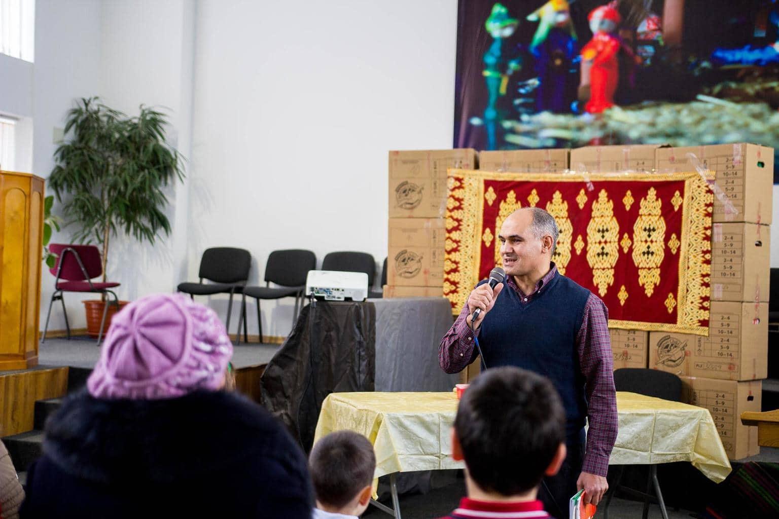 Sărbătoarea Crăciunului la Biserica Bunavestirea - str. Ciocârliei 2/8