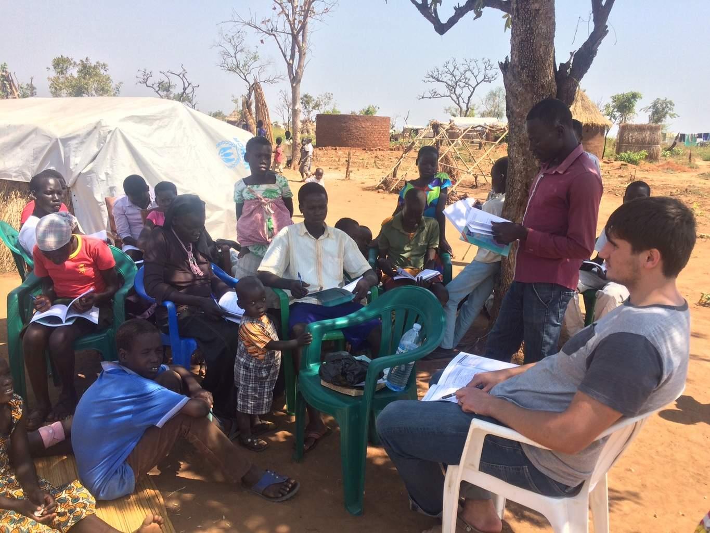 Studiu biblie în Pagirinya Uganda