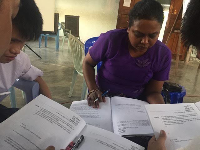 lucrare creștină cu leproșii din Myanmar