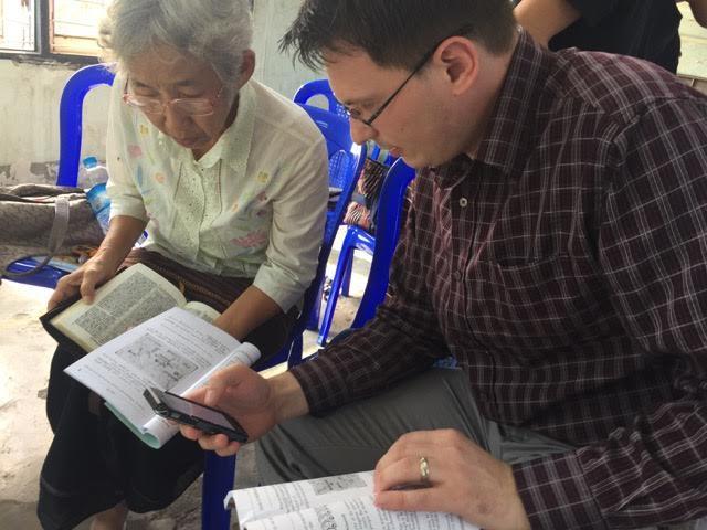 Slava Crâlov, profesor la facultatea de limbă engleză a institutului biblic Precept Ministries