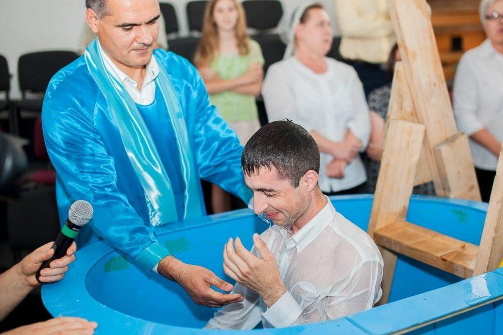 Крещение, осуществлённое свидетелями Иеговы