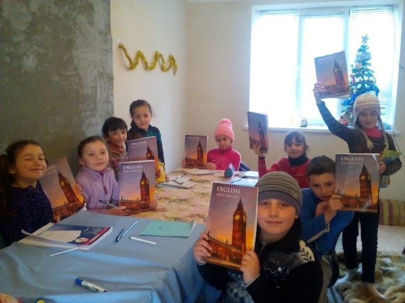 English for a New Life - predare în satul Cazaclia