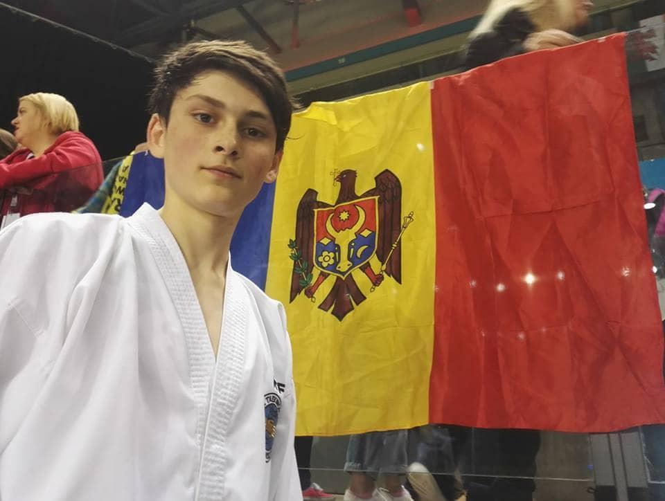 Covalenco Ruvim, campion european la competiția din Liverpool, Anglia.