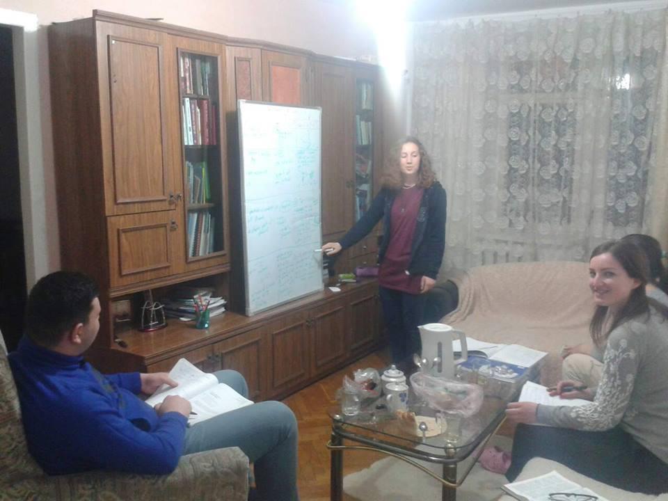 Predarea Bibliei in grupul de studiu Marcela Tasca