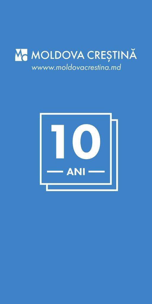 Aniversarea de 10 ani a portalului Moldova Creștină