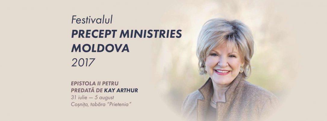 Kay Arthur va preda la Festivalul Precept Ministries Moldova 2017