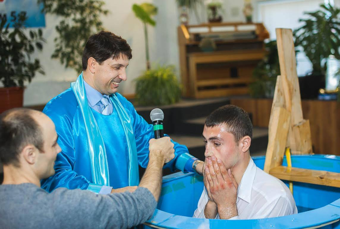 Vasile Panainte - botez; mărturia de pocăință