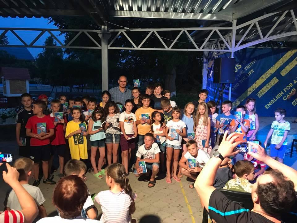 Mesaj biblic de la Vasile Filat la tabăra EFNL