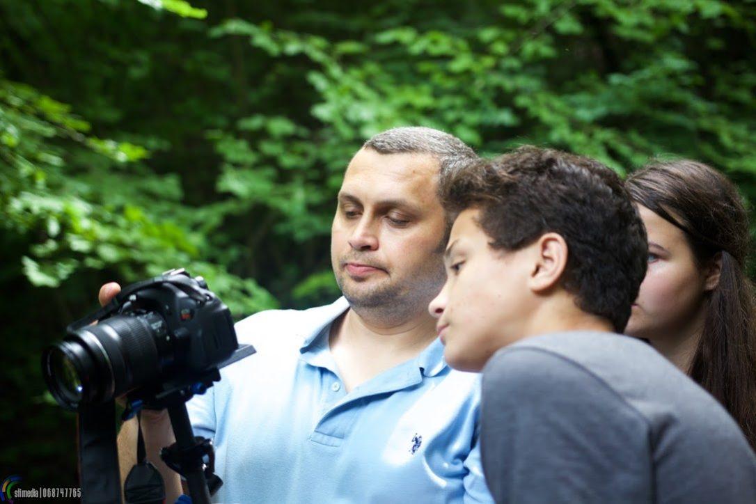 Curs de fotografiere și video la tabăra EFNL