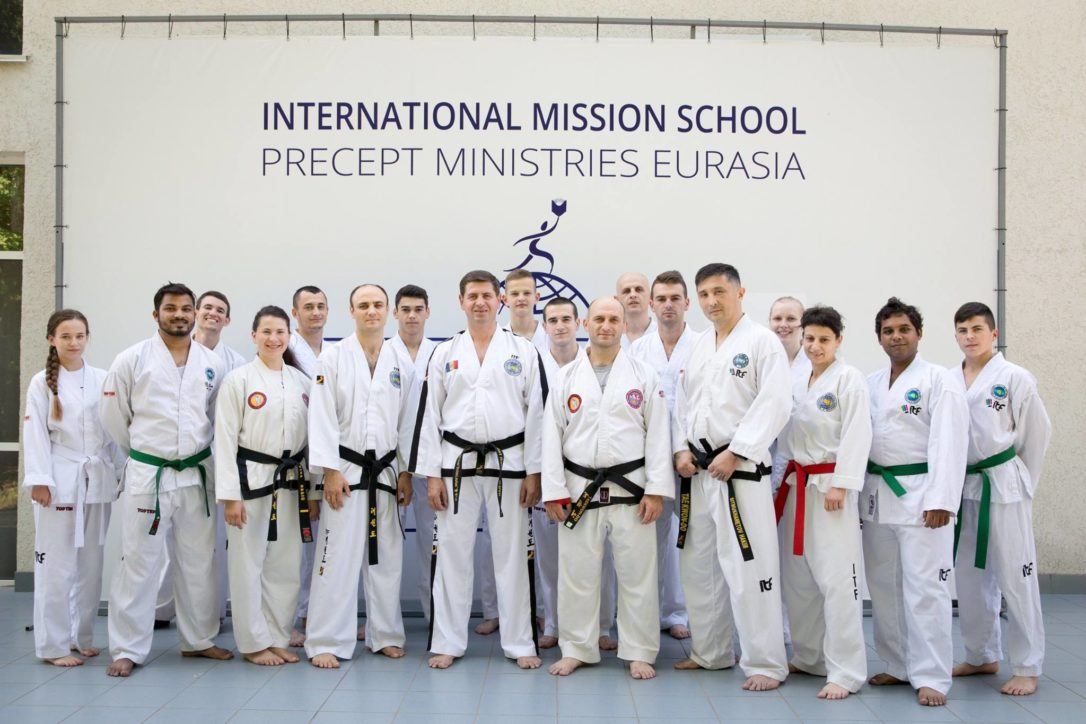 Misiune prin Taekwon-Do - formarea misionarilor