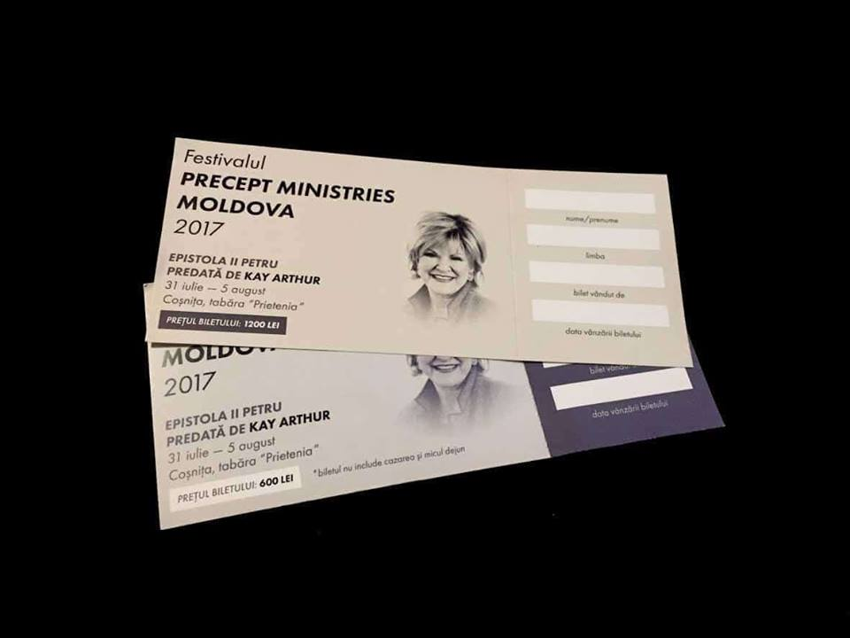 Kay Arthur na Festivale Precept Ministries Moldova 2017
