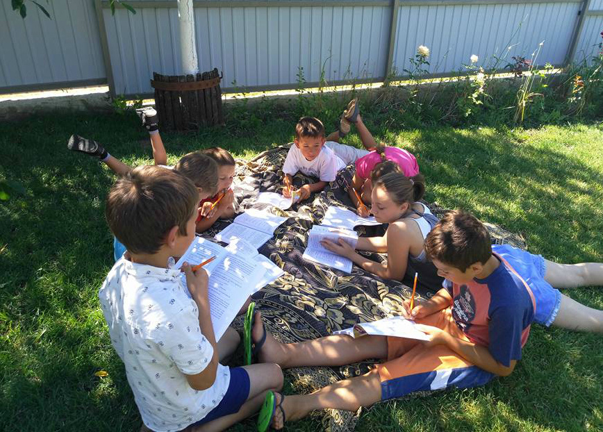 tabără de zi pentru copii