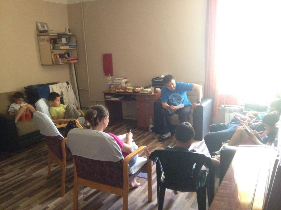 Studiu biblic în Kazahstan - lucrarea de misiune printre copii